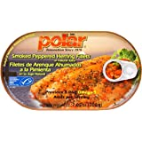 MW Polar Peppered Smoked Herring, 7.05 Ounce (Pack of 12)