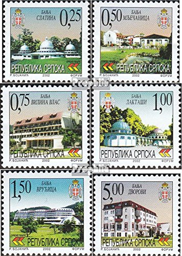 2002 Spa - Serbian Republic bos.-h 245-250 (Complete.Issue.) 2002 Spas (Stamps for Collectors)
