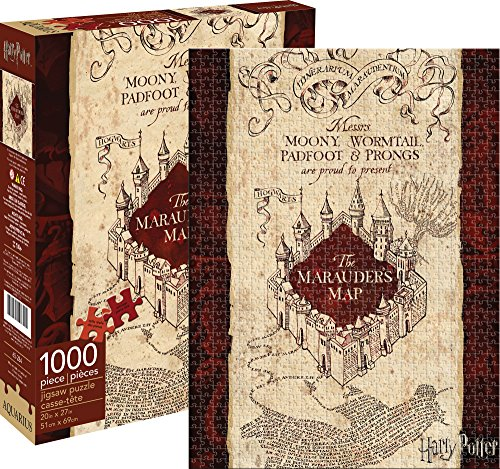 Aquarius Harry Potter Marauders Map Puzzle (1000 Piece)
