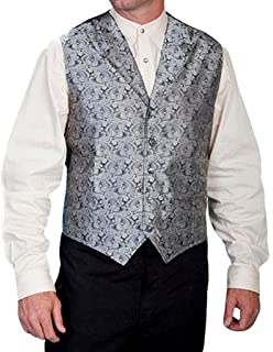 Scully Boys Paisley Vest Rw093k Bur