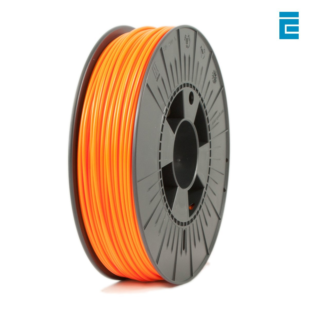 Ice Filaments ICEFIL3PLA129 Filamento PLA 2.85mm, 0.75kg, Arancio Dutch Filaments