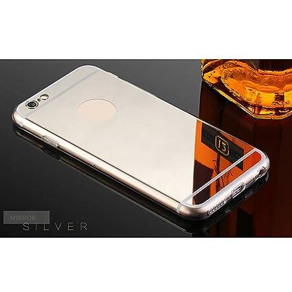 Amazon.com: Espejo carcasa para iPhone 7 Plus, Suave Selfie ...