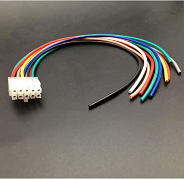 Amazon Com Allmost 10 Pin Harness Compatible With Kicker Bassstation Pt10 Pt250 11pt8 11hs8 11phd12 11ph12 S Automotive