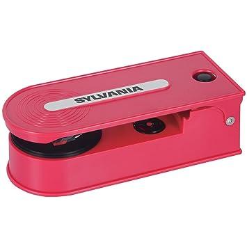 Reproductor de Vinilos Portátil con USB: Amazon.es: Electrónica
