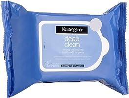 Lenços Demaquilantes Deep Clean, Neutrogena, 25 Unidades