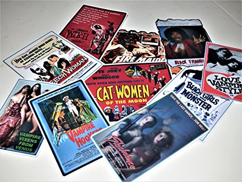Horror Movie Hotties Vinyl Sticker Laptop Guitar Case Skateboard Notebook Car Truck Light Pole]()