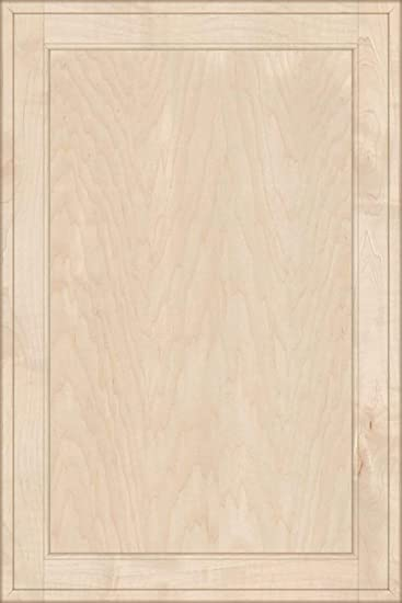 Unfinished MDF Square Flat Panel Cabinet Door by Kendor 27H x 18W