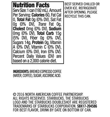 Starbucks Doubleshot Espresso Beverage Variety Pack