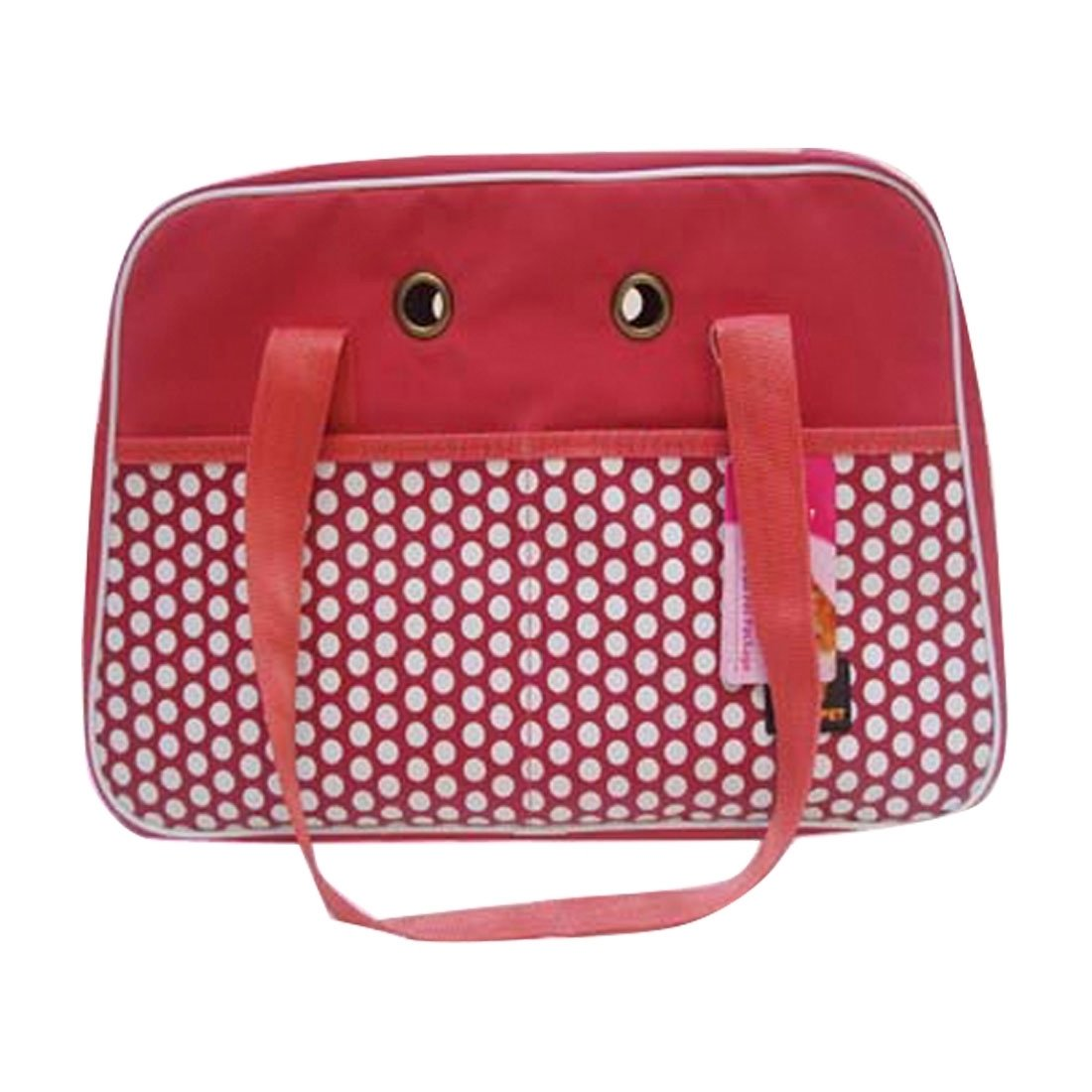 Red HHF Pet Supplies Portable Pet Handbag Bag Show Head for Cat Dog and oher Pets, DODOPET CK-416 Small Size 45  28  18cm (color   Red)