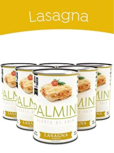 Palmini Low Carb Lasagna | 4g of Carbs | As Seen On Shark Tank | Gluten Free | 14 Oz. Can (6 Unit Case)