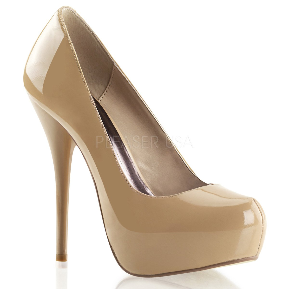 Pleaser Day & Night - Gorgeous-20 Gorgeous-20 Gorgeous-20 - Sexy edle High Heels Lackleder Plateau Pumps 35-42 55b8db