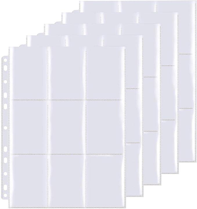 Funmo Pokemon Pochettes pour Cartes,540 Pochette...