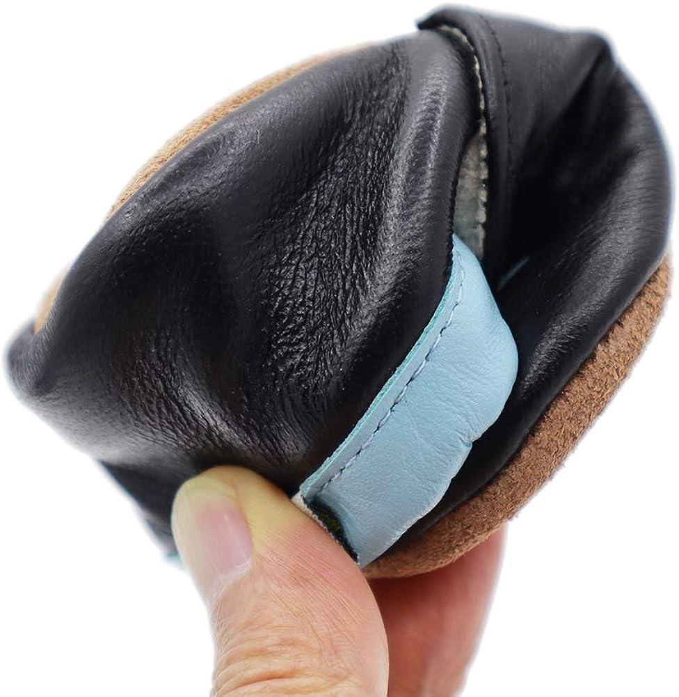 VASHCAME-Chaussures B/éb/é Cuir Souple Chaussons Premiers Pas Respirant pour Gar/çon Fille Nourrisson Efant