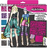 Calling all models to the runway! the Project Runway sketch portfolio will bring out your inner fashion stylist by dressing models and getting them ready to walk the runway! this sketch pad comes with removable plastic stencil cards with over...