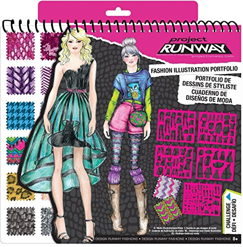 Project Runway Fashion Design Sketch Portfolio