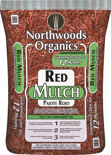 Waupaca Northwoods WNW03250 Mulch/Seed and Fertilizer, Red