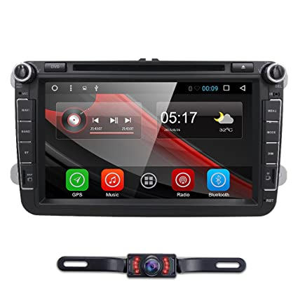 amazon com android 7 1 for vw passat t5 golf mk5 jetta gti polo eos rh amazon com Car Audio Wiring Diagram Car Audio Crossover Settings