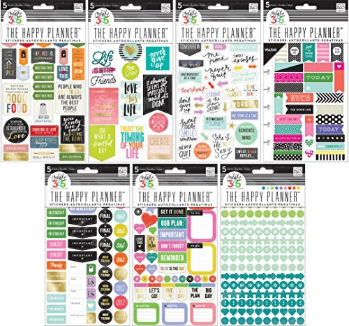 Create Happy Planner Stickers Bundle