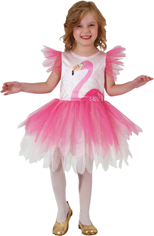 Mortino Infantil Disfraz Flamingo Libre (Talla 92 – 116 Vestido ...