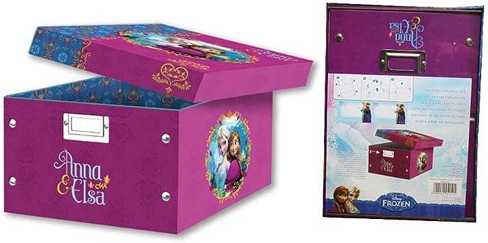 Caja organizadora plegable Frozen Disney: Amazon.es: Juguetes y ...