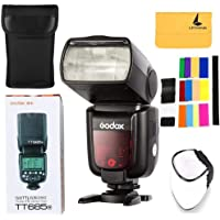 Godox TT685N TTL Nikon Camera Flash Speedlite 2.4G Wireless HSS 1/8000s GN60 for Nikon DSLR Cameras(TT685N)