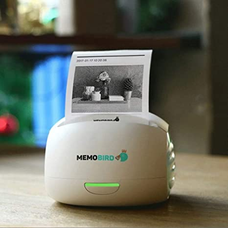 Mini Impresora de Fotos de Papel inalámbrica Portátil Bluetooth ...