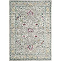 Safavieh Mystique Collection MYS922R Vintage Watercolor Grey and Multi Distressed Area Rug (3 x 5)