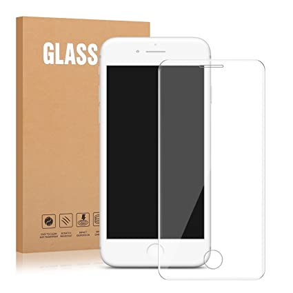 size 40 53766 01d50 Amazon.com: iPhone 8, 7, 6S, 6 Tempered Glass - Dtdepth Full ...