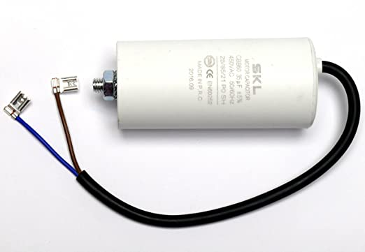 Kondensator für Motoren 1 st Betrieb 35uF 425VAC D45x98mm ±5/%