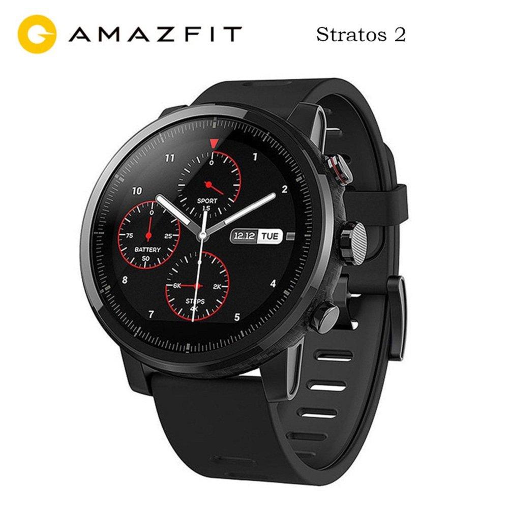 Amazfit Stratos 2 Xiaomi Smartwatch Activity Tracker Pedometri GPS Bluetooth Nuoto Impermeabile Versione internazionale Nero product image