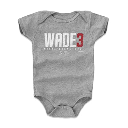 9701b5f88e8 Amazon.com  500 LEVEL Dwyane Wade Baby Clothes   Onesie (3-6