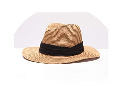 9cd9b70589823 Glad You Came Summer Women s Hat Brim Lady Beach Sun Hat Casual Panama  Straw Hat Men