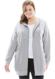Amazoncom Champion Womens Plus Size Fleece Full Zip Hoodie Clothing