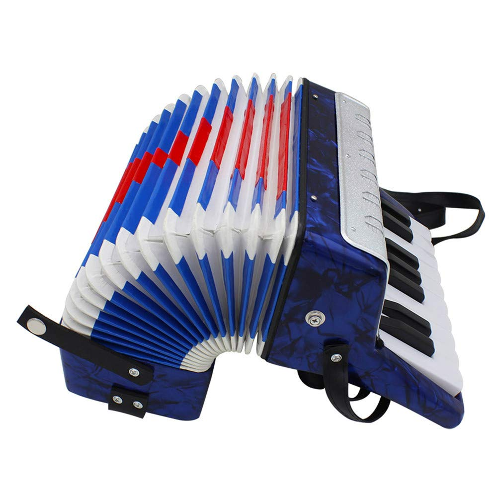 Accordions Mini Small 17-Key 8 Bass Educational Musical Instrument Toy for Kids Children Amateur Beginner by Accordions (Image #4)