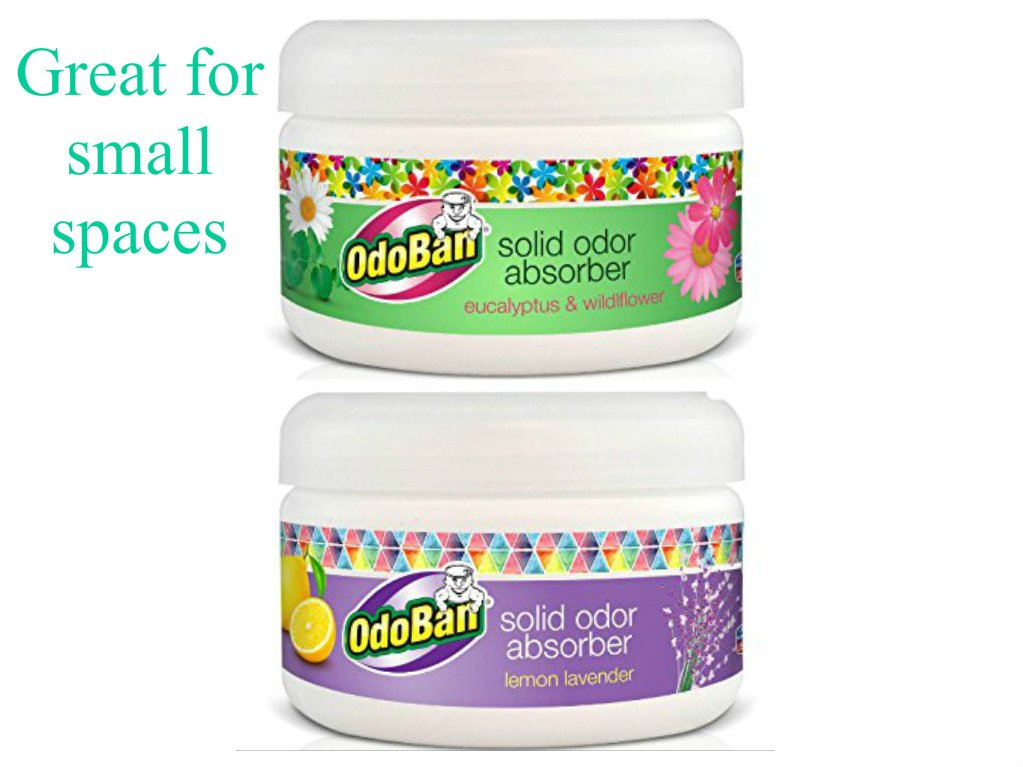 OdoBan 8oz Solid Odor Absorbers for Home and Small Spaces (Pack of 2)