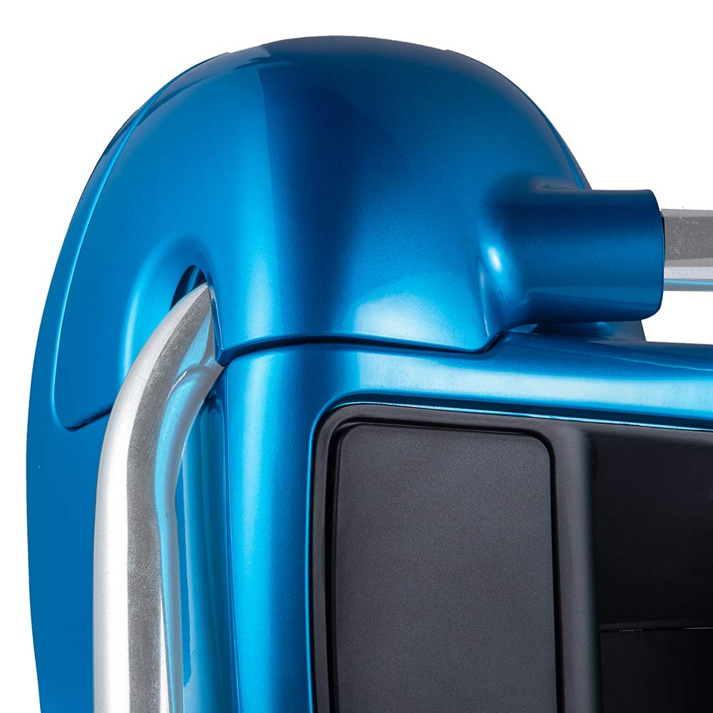 Superior Blue Rushmore Lower Vented Fairings 6.5 inch Speaker Pods Fit for Harley Touring Road Glide Street Glide Road King Electra Glide Ultra Classic 2014 2015 2016 2017 2018
