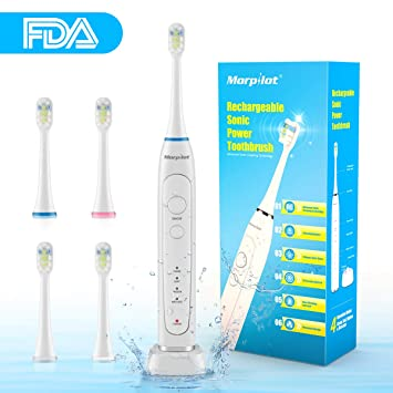 amazon com electronic toothbrush rechargeable toothbrush powerful