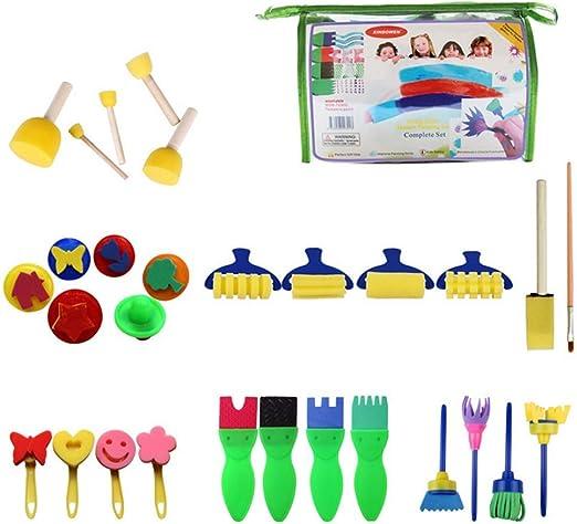 Kit de pintura para niños, Drybely 29 PACK Kindergarten Creativo ...