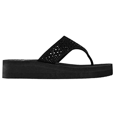9e7b345d6 Soul Cal Womens Eva Mid Wedge Flip Flops  Amazon.co.uk  Shoes   Bags