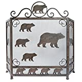 LL Home Metal Heavy Bear FIRE Screen Decor Review