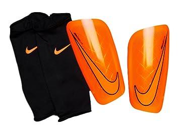 8e5f4baa9b2 Nike Mercurial Lite protège-Tibias Total de Protections pour Homme Orange M  Multicolore - Total