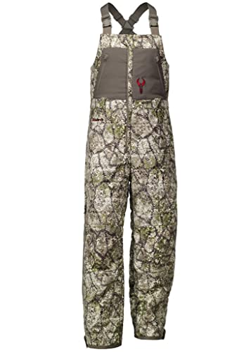 Badlands Men's Convection Camo Insulated Hunting Bib Overalls - Camouflage