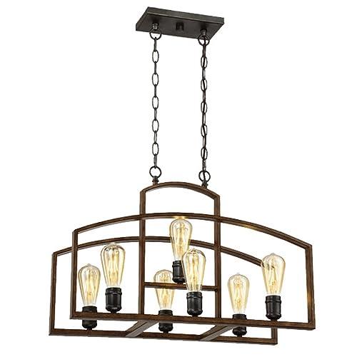Edison Light Chandelier Amazon Com