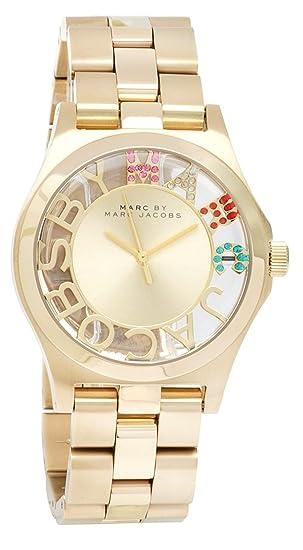 Reloj mujer MARC BY MARC JACOBS SKELETON HENRY MBM3263: Amazon.es: Relojes
