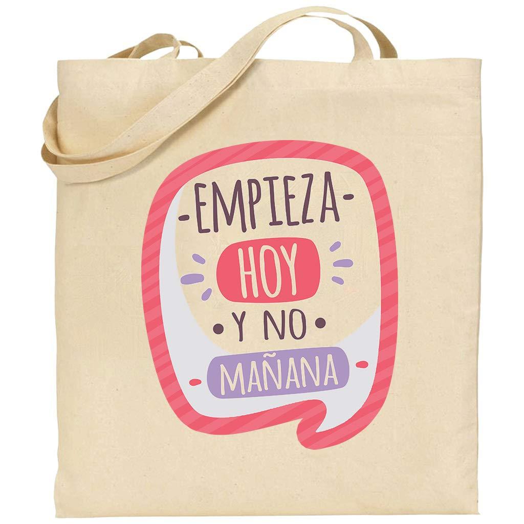 Bolsa algodón frases, mensajes, personalizable tote bag: Amazon.es ...