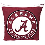 The Northwest Co. NCAA University Woven Decorative Pillow, 20'' Square, Alabama