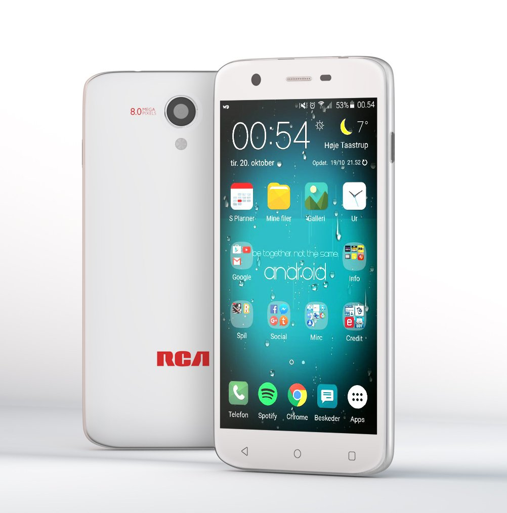 RCA Q1 4G LTE, 16GB, Unlocked Dual SIM Cell Phone, Android 6.0 - White by RCA (Image #2)