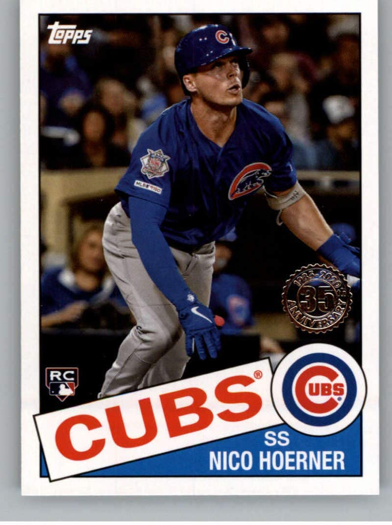 2019 Bowman Platinum Top Prospects Baseball #TOP-27 Nico Hoerner Chicago Cubs Official Retail Exclusive Trading Card From Topps