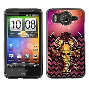 Dragon Case - FOR HTC G10 - No happiness without action - Caja protectora de pl??stico duro de la cubierta Dise?¡Ào Slim Fit
