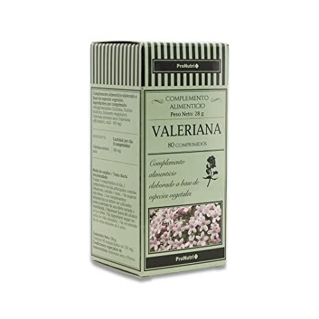 PRONUTRI Three Pack Valeriana 80 comprimidos-